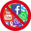 no social network